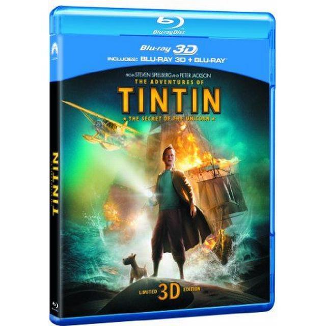 The Adventures of Tintin: The Secret Of The Unicorn (Blu-ray 3D + Blu-ray + DVD + Digital Copy) [2012] [Region Free]